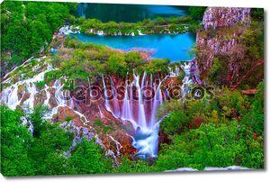 Райский водопад