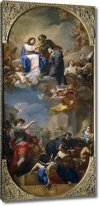 Джаквинто Коррадо. Триумф святого Иоанна Божьего