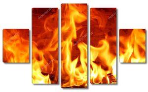 Большое пламя