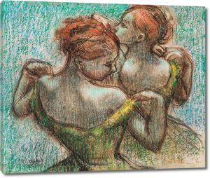 Дега - Две танцовщицы