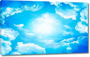 Подсвеченные облака