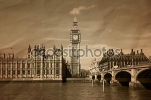 старинный вид Лондона