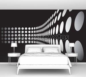 3D точки стены макет