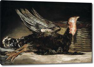 Франсиско Гойя. Мертвая индейка