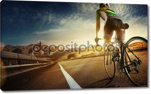 езда Горный велосипед велосипедист
