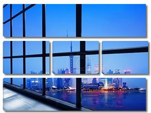 Китай Шанхай финансового района Луцзяцзуй