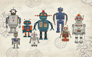 Забавные роботы