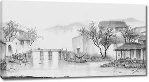 Городок на реке