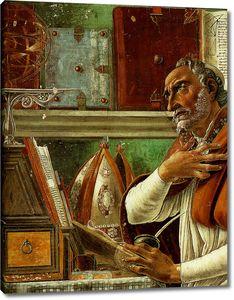 Боттичелли Сандро. Святой Августин