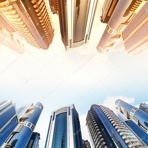 Высокий небоскреб