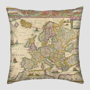 Старая карта Evropa