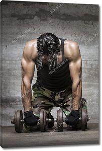 Мышцы спортсмена