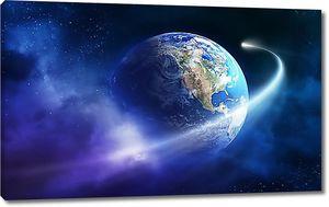 Вращение вокруг земли