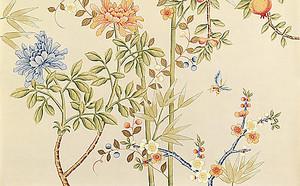 Неброская цветочная композиция