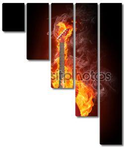 Пламенная электрогитара