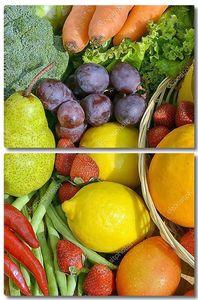 лучшие фрукты & овощи фото