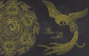 Золотой павлин