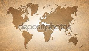 Карта прошлого века