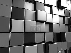 Металлические Кубы фон
