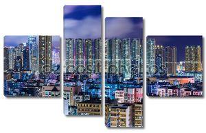 гонконгский городской пейзаж