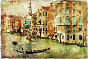 Картина с видом на Венецию