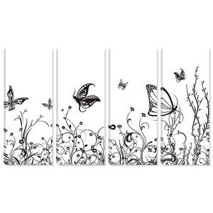 Бабочки в черно-белом