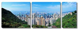 Гонконг горный вид сверху