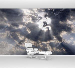 Лицо Христа на небе