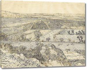 Ван Гог. Ла Крау вид из Монмажура