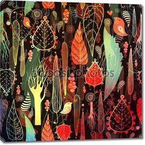 Волшебный лес текстуры