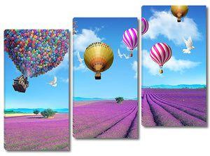Воздушный шар из шариков
