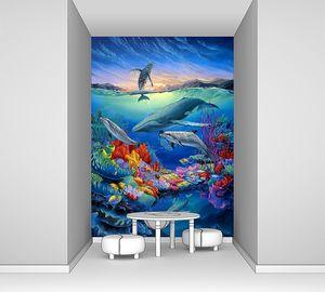 Фреска с невероятным подводным миром