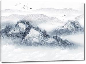 Вершины серыми красками