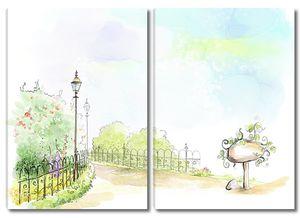 Парк в сказочном мире