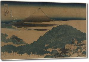 Кацусика Хокусай. Сосновый бор в Аояма