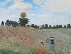 Моне Клод. Маки Близ Аржантея, 1873