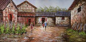 Дворик в селе