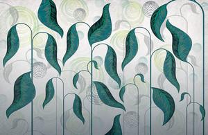Folium-стебли в зеленой гамме