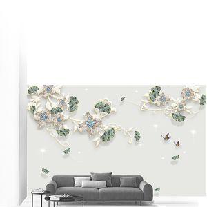 Миниатюра из цветочков