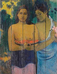 Поль Гоген -  Две Таитянки