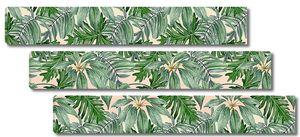 Ковер из тропических листьев
