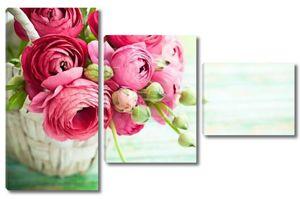 Букет розовых Лютик