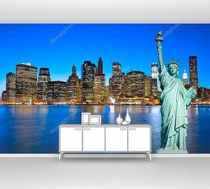 Статуя Свободы. Нью-Йорк, США .