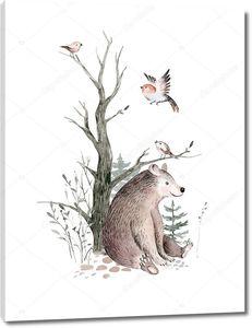 Скандинавский медведь
