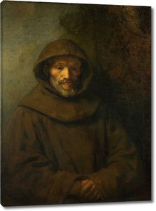 Рембрандт. Портрет францисканского монаха