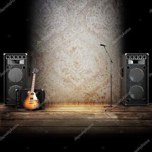 этап музыку или петь фон