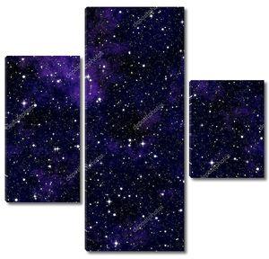Фон ночного неба со звездами