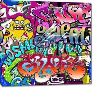 Хип-хоп уличный арт