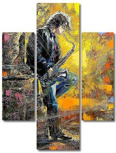 Уличный саксофонист