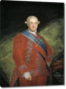 Гойя и Лусиентес Франсиско де. Король Карлос IV